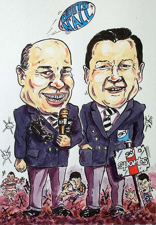 Eddie & Stevo Boots n All