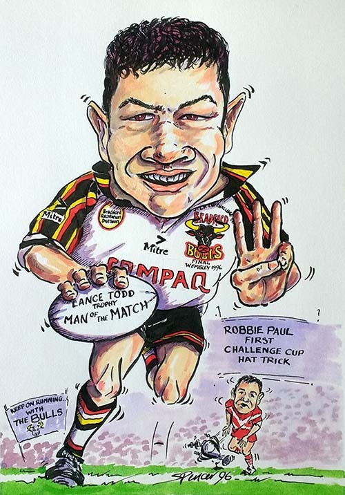 Robbie Paul Bradford Bulls